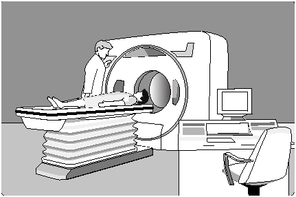 An image showing a CT machine